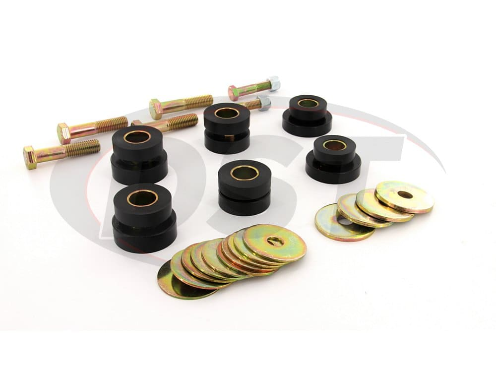 7139 Body Mount Bushings and Radiator Support Bushings - Hardtop Only