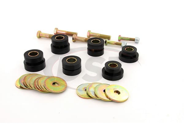 Body Mount Bushings and Radiator Support Bushings - Hardtop Only