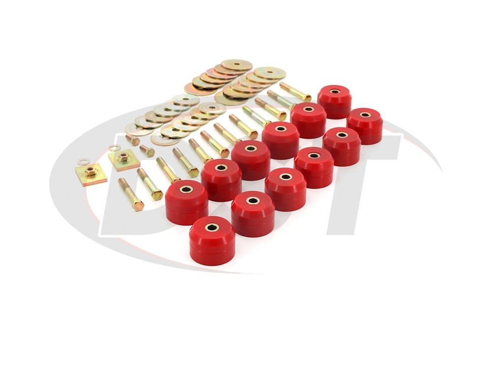 7145 Body Mount Bushings Kit - Convertible