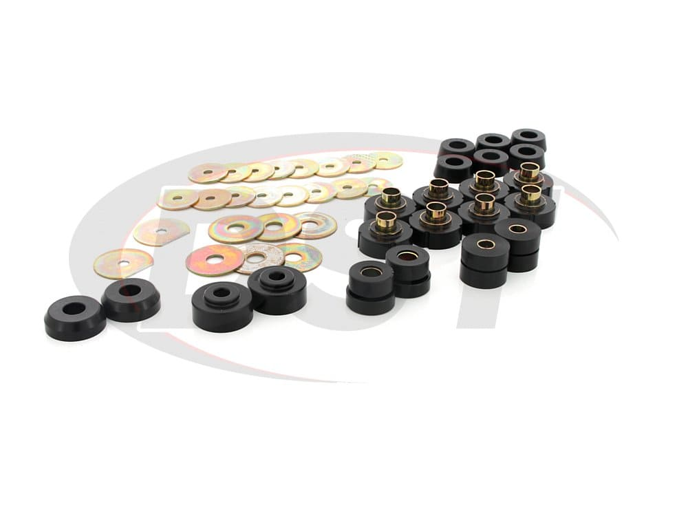 7149 Body Mounts Bushings - Convertible