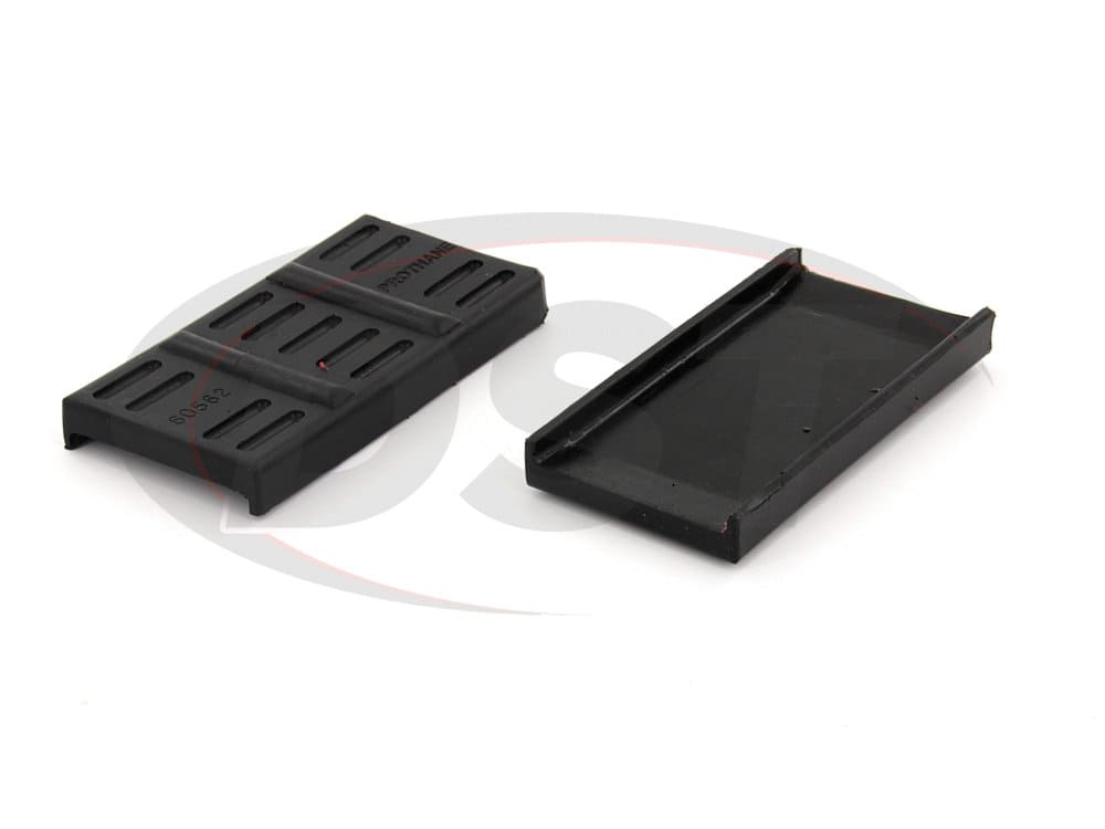 71704 Rear Upper Spring Pads - Mono Leaf