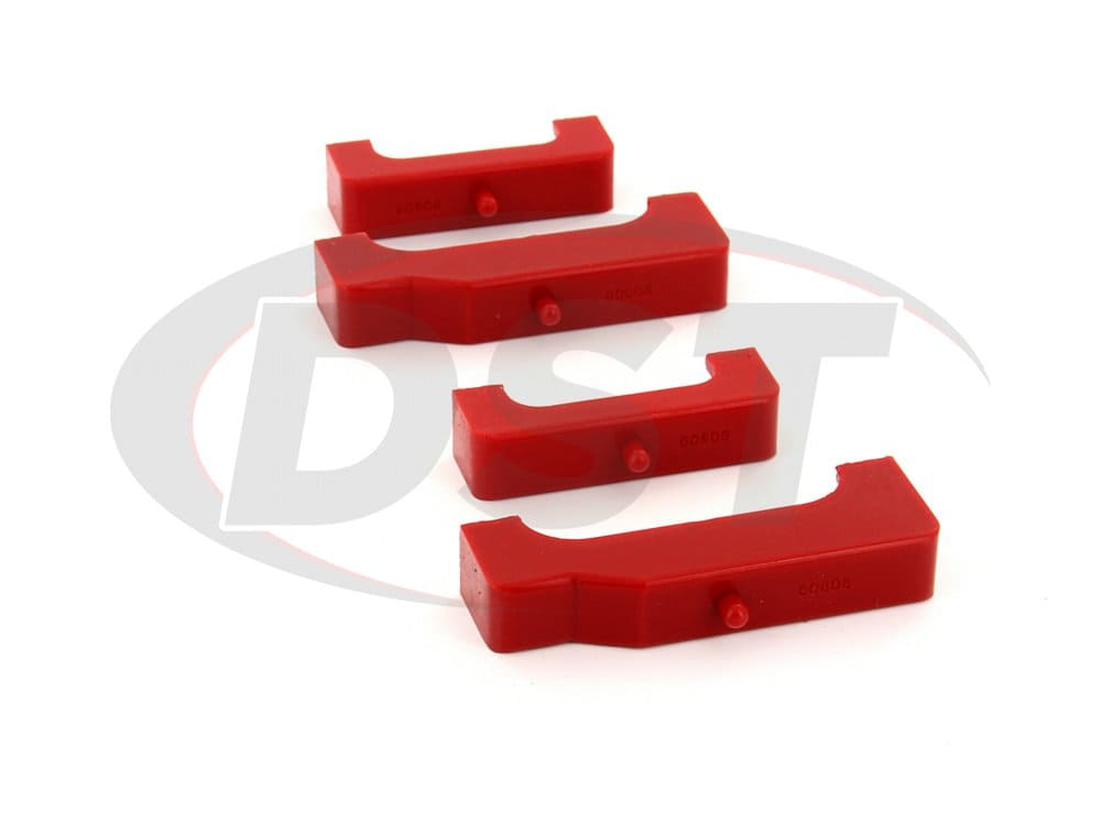 71713 Radiator Isolators - Small Block