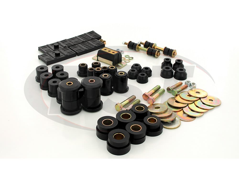 72002 Complete Suspension Bushing Kit - Chevrolet & Pontiac Models - Mono Leaf - with Transmission Mount