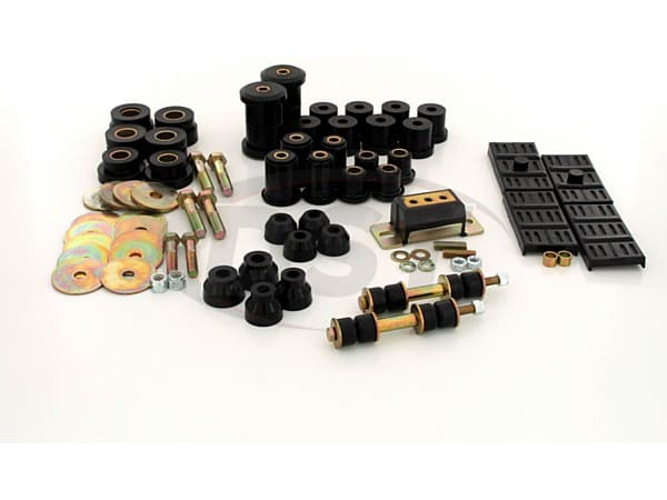 Complete Suspension Bushing Kit - Chevrolet & Pontiac Models - Mono Leaf - with Transmission Mount