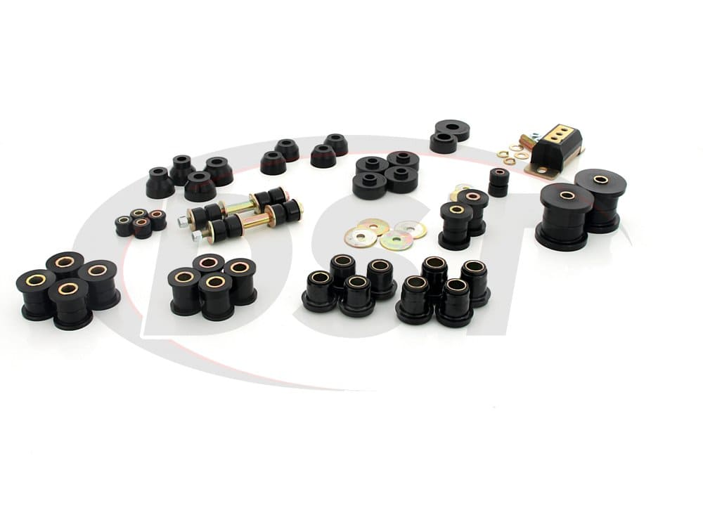 72012 Complete Suspension Bushing Kit - Chevrolet Corvette 63-82 with Transmission Mount