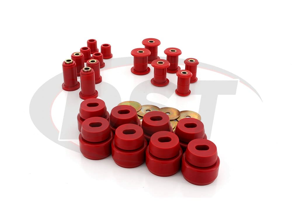 72043 Complete Suspension Bushing Kit - Chevrolet Silverado 2500 2WD 01-06