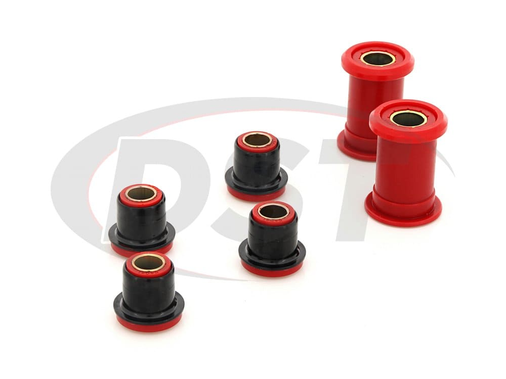 7211 Front Control Arm Bushings - Upper with Shells - Lower without