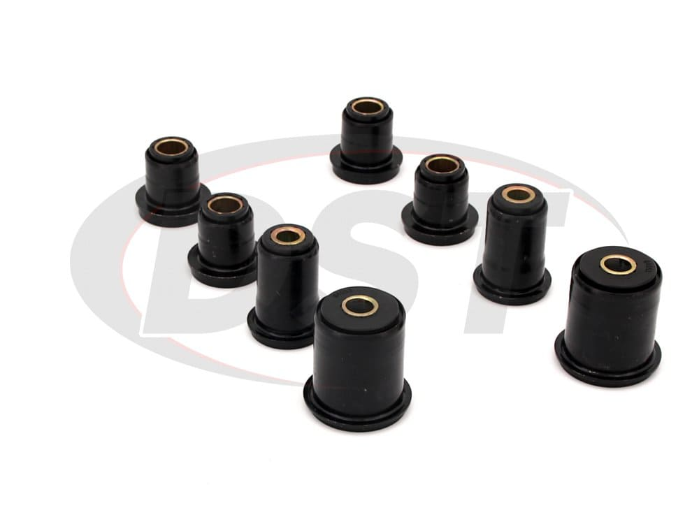 7213 Front Control Arm Bushings - With Shells - With 1.375 Inch OD Front Lower Bushing