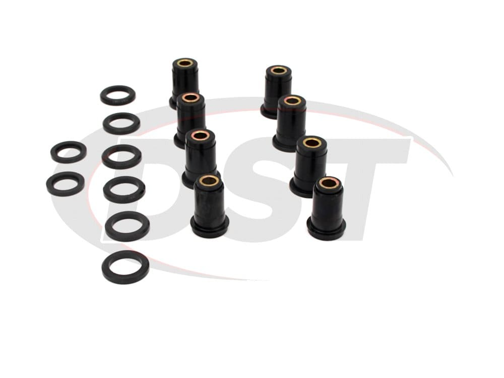 7308 Rear Control Arm Bushings - without Shells - Two Upper Arms
