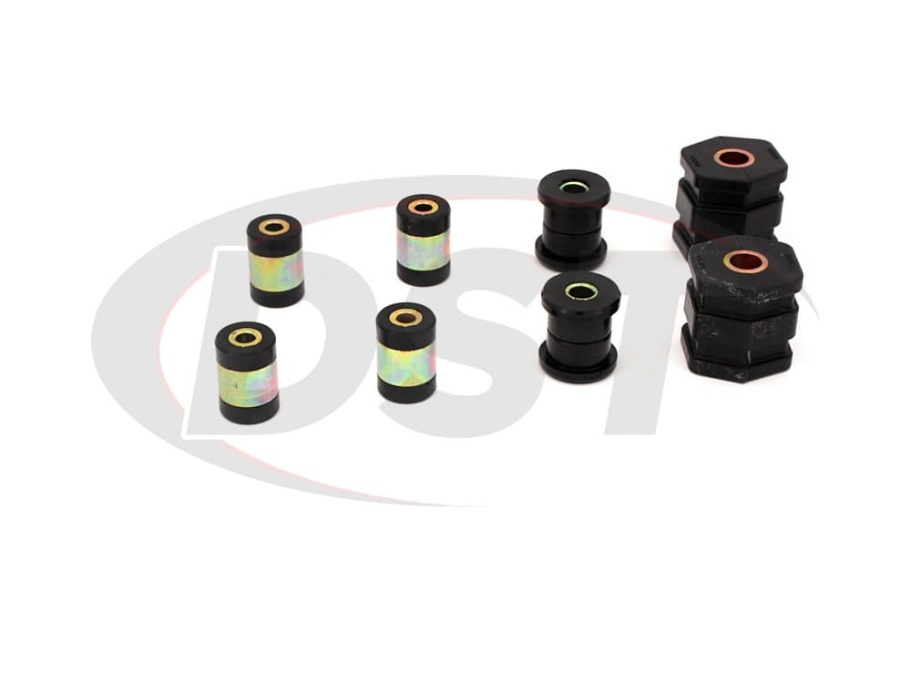 8221 Front Upper and Lower Control Arm Bushings
