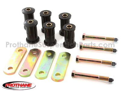 Rear Leaf Spring Bushings and Heavy Duty Shackles