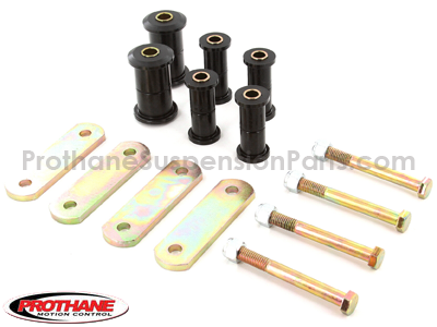 AMC AMX 1970 Rear Leaf Spring Bushings and Heavy Duty Shackles