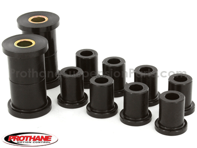 41002 Rear Leaf Spring and Shackle Bushings - 1.5 Inch Main Eye