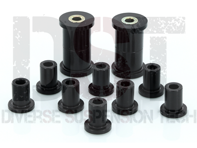 Rear Leaf Spring Bushings - 1.5 Inch Main Eye Using 1/2 Inch Bolt