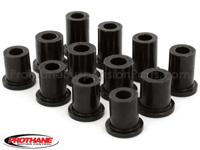 Rear Leaf Spring Eye and Shackle Bushings Kit
