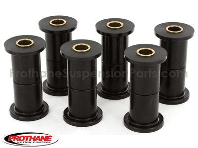 Ford F250 4WD 1972 Front Leaf Spring and Shackle Bushings - 1-1/4 Inch Main Eye