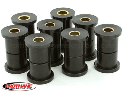 61022 Rear Leaf Spring Bushings - 3 Bushing Shackle