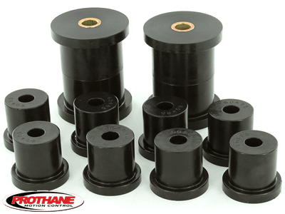 61051 Rear Leaf Spring and Shackle Bushings Kit - 1/2 Inch ID Shackle