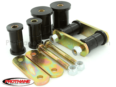 61053 Rear Leaf Spring Eye Bushings and HD Shackle Kit