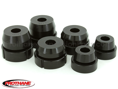 Body Mount Bushings and Radiator Support Bushings - 2WD