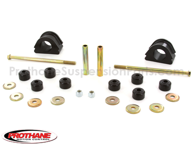 61138 Front Sway Bar Bushings and Endlinks - 4WD - 33mm - (1.29 inch)