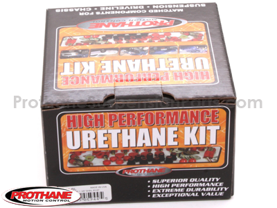 71006 Rear Leaf Spring Eye and Shackle Bushings Kit - 1-3/8 Inch Frame Shackle