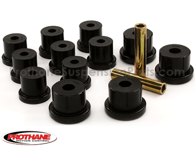 71010 Rear Leaf Spring Eye and Shackle Bushings Kit - Mono Leaf