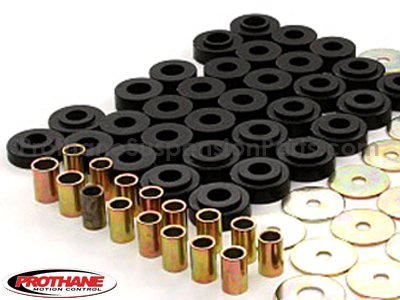 7122 Body Mount Bushings and Radiator Support Bushings - Convertible Only