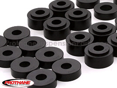 7124 Body Mount Bushings and Radiator Support Bushings - Convertible Only