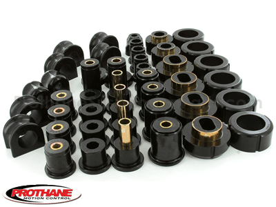Complete Suspension Bushing Kit - Chevrolet S10 Pickup 4WD 83-04 - Standard Cab