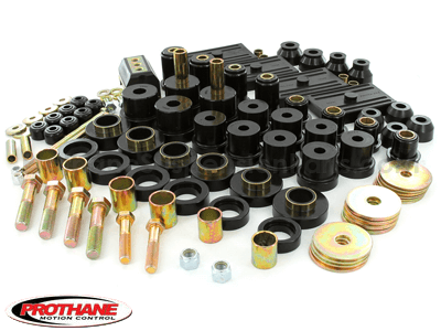Complete Suspension Bushing Kit - Chevrolet Models - Multi Leaf - with Transmission Mount