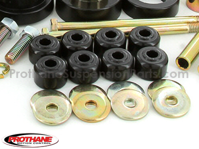 72040 Complete Suspension Bushing Kit - Chevrolet Models - Multi Leaf - with Transmission Mount