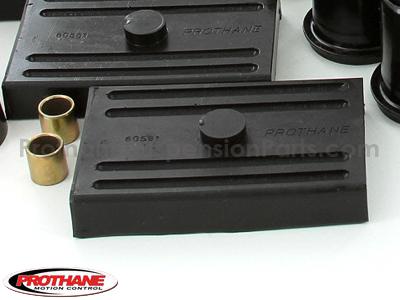72040 Complete Suspension Bushing Kit - Chevrolet Models - Multi Leaf - with Transmission Mount
