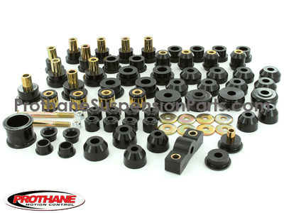 Complete Suspension Bushing Kit - Honda Civic and CRX 88-91