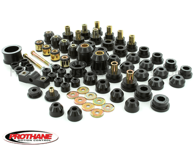 Suspension Bushing Kit w/o Rear Upper Control Arm Bushings - Honda Civic and Del Sol