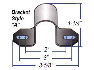 191103 Universal Sway Bar Bushings - 14.28MM (0.56 Inch) - A